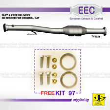 EEC CATALYST TY8021 TOYOTA AVENSIS 1.8 2.0 16V 4A-FE 7A-FE 3S-FE PETROL FREE KIT