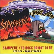 KROKUS - STAMPEDE/TO ROCK OR NOT TO BE 2 CD NEUF