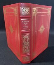 Barchester Towers Anthony Trollope Franklin Library 1982 Gold Embossed