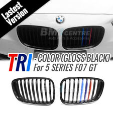 Gloss Black TRI M Colour Kidney Front Mesh Grille for BMW 5 Series F07 GT 10-16