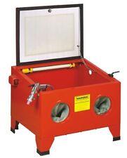Cabine de sablage Sableuse, Microbilleuse Aerogommeuse 90 litres + accessoires