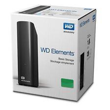 NEW Western Digital WD Elements 3TB USB 3 External Desktop Storage WDBWLG0030HBK