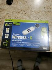 Linksys WUSB54GC 2.4 GHz Mpbs Compact Wireless-G USB Wifi Adapter - NEW SEALED