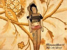 Antique Rare 1800's Vintage Cloth Rag Doll Folk Art Authentic Doll