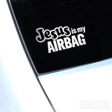 Jésus est mon airbag Drôle Voiture Van fenêtre autocollant sticker JDM Euro Vag Dub VW Camper