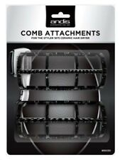 Andis Comb Attachments for the Styler 1875 Ceramic Hair Dryer #85030