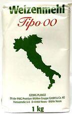 5 x 1000g Pizzamehl Weizenmehl T405 Tipo 00 nach italienischer Art