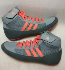 Adidas Boxing shoes boys sz 6 gray/orange