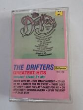 The Drifters Greatest Hits Cassette Tape 1987 By Highland Music