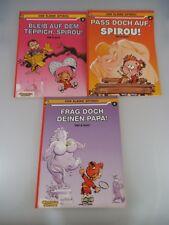 3x Der kleine Spirou Comic Alben Carlsen (1998)