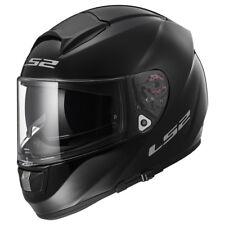LS2 Helmet Motorbike Fullface Ff397 Vector Solid Black XS