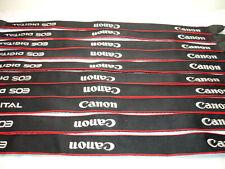 CANON EOS DIGITAL CAMERA NECK STRAP - Lot of 10 straps -  Genuine / OEM