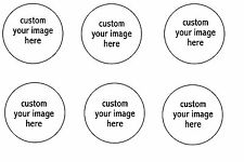 Custom Image Edible Party Image Cupcake Topper Frosting Icing Sheet Circles