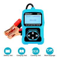 Automotive 100-2000 CCA Battery Load Tester 12V Car Cranking/Charging System