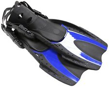 Fins Snorkeling Scuba Diving Swimming Blue Size Youth 1-3