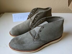 NIB New in box Red Wing 3144 - Work Chukka Suede Sage Mohave Boots Green size 12