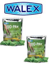 2 x Walex Bio Pak Holding Tank Deodorizer Portable Toilet Chemical - Caravan RV