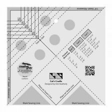 Creative Grids Cat's Cradle Quilt Block Tool Makes 6 Sizes