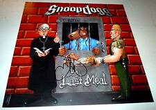 SNOOP DOGG~The Last Meal~Signed~Original Promo Poster Flat~12x12~Excellent~2000