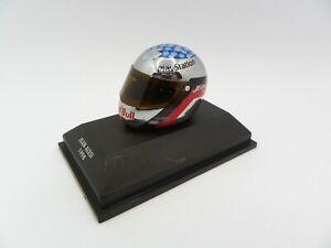 Helmet Jean Alesi 1998 Sauber MINICHAMPS 1/8 F1 Helmet Formula 1