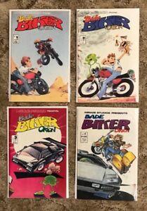 Bade Biker & Orson #1-4, complete, Mirage Studios1988
