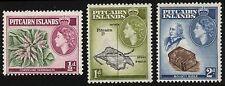 3x PITCAIRN ISLAND Queen Elizabeth Postage Stamps Mint LH CV $7.50