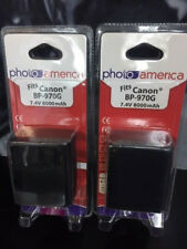 PHOTOAMERICA 2 Batteries for Canon BP-970G, BP-975 and Canon EOS C100, EOS C100