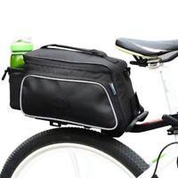 MTB Road Bike Pannier Rear Seat Bag Bicycle Rack Trunk Roswheel Black 39*17*15cm
