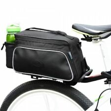 MTB Road Bike Pannier Rear Seat Bag Bicycle Rack Trunk Roswheel Black 39*17*15cm