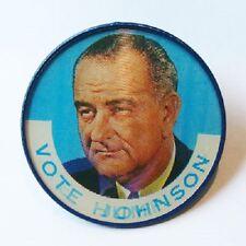 1964 LYNDON B JOHNSON LBJ HUMPHREY FLASHER campaign pin pinback button political