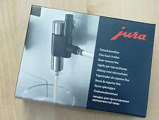 Jura inyector de espuma fina Boquilla cappuccinatore 72166 NUEVO Y EMB. orig.
