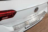 Edelstahl Ladekantenschutz für VW T-Roc Passgenau mit Abkantung ab BJ. 11.2017-