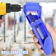 Drill Bit Sharpener corindon meule Titane Portable perceuse outil GIF BL3
