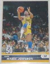 2007/08 Magic Johnson LA Lakers NBA Basketball Topps 50 Honor Roll Card #19 NM