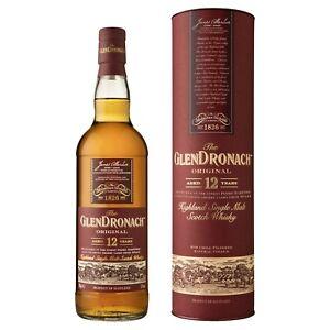 GlenDronach 12 Year Old Highland Single Malt Scotch Whisky 700ml