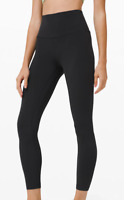 """Lululemon Align High Rise Pant Tight 25"""" Black New With Tags FREE SHIPPING"""