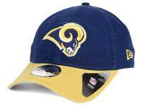 Los Angeles Rams New Era 9Twenty Navy Gold Strapback Hat Adjustable Cap one size