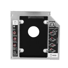 SATA HDD SSD Hard Drive Caddy Carrier Tray for 12.7mm DVD-ROM Optical Bay