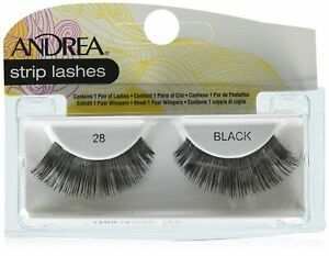 NEW Andrea False Eyelashes Strip Lash Style 28, Black WO42