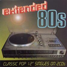 "Extended 80s - Classic Pop 12"" Singles (2CD) Music Club (MCCD602) 2006 N/Mint"