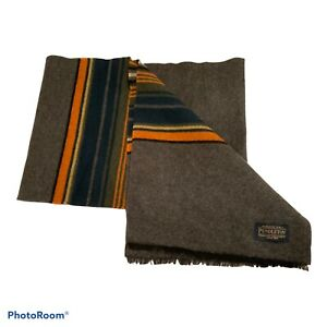 Pendleton Mens Wool Scraf Multi Coloured Made In Italy ..