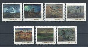 2020 Group of Seven SCARCE Complete stamps from Booklet First Day Cancel