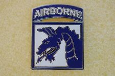 US USA Army 18th Airborne Military Hat Lapel Pin