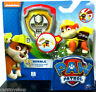 Paw Patrol Toys Rubble Action Pack Pup and Badge Figure Bulldog Toy Nickelodeon