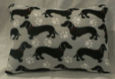 Homemade Envelope StyleToddler Pillowcase 12 x 16 Dachshund Puppy Dogs Fleece