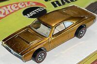 All Original Hot Wheels Redline Custom Dodge Charger 1968 Gold United States