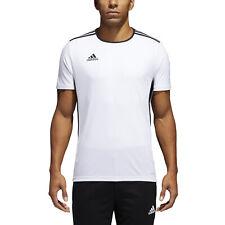 Adidas Entrada 18 t-shirt bianca in Cotone da uomo CD8438 91969