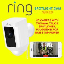 Anillo Spotlight Cam Con Cable Cámara HD con dos vías de hablar & Focos De Seguridad Cam