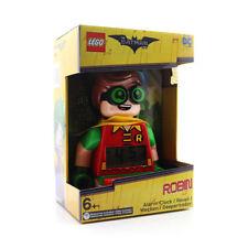 New DC Comics Lego The Batman Movie Robin Alarm Clock Free UK p+p
