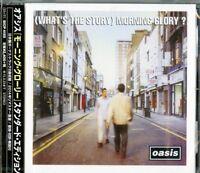 OASIS-(WHAT'S THE STORY) MORNING GLORY? STANDARD...-JAPAN CD BONUS TRACK F30